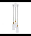 Lampa suspendata Pentone,3x60w