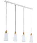 Lampa suspendata Pentone,4x60w
