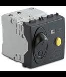 Intrerupator automat  diferential magnetotermic  1P+NC10A, 3000A, gri