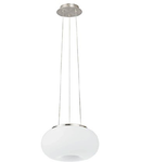 Lampa suspendata OPTICA satin nickel 220-240V,50/60Hz IP20
