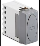 Releu 4 secvente de comutare, cu bobina 230V, argintiu