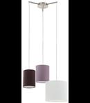 Lampa suspendata Tombolo,3x60w