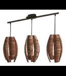 Lampa suspendata MONGU brown 220-240V,50/60Hz IP20