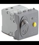Intrerupator automat diferential magnetotermic 1P+NC16A, 3000A, argintiu