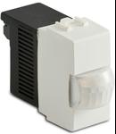 Detector prezenta cu LED-uri, 12V AC / DC 50 / 60Hz, releu de comutare NO-CNA- 1A, alb