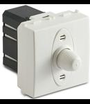 Dimmer static pentru sarcina rezistiva, 2 module, 100-500W/230V~ AC, alb