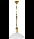 Lampa suspendata Milea,1x100w,auriu