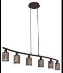 Lampa suspendata Almera6x40w