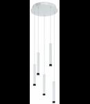 Lampa suspendata Raparo,5x5w,alba