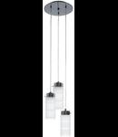 Lampa suspendata Olvero,3x7w,rotunda