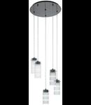 Lampa suspendata Olvero,5x7w
