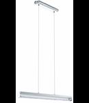 Lampa suspendata Trevelo,24w,gri,cristale