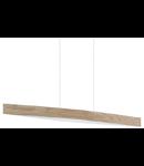 Lampa suspendata Fornes,4x6w,stejar