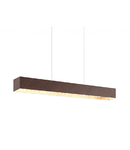 Lampa suspendata Collada,2x6w,maro-auriu
