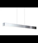 Lampa suspendata Collada,3x6w,crom-alb