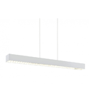 Lampa suspendata Collada,3x6w,argintiu-alb