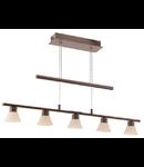 Lampa suspendata Tufara,5x2.38w,maro