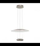 Lampa suspendata Lemos,2x7.8w,nichel