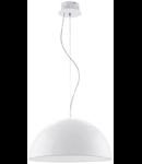 Lampa suspendata Gaetano,24w,alb,53 cm