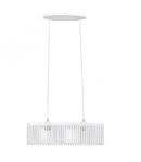 Lampa suspendata Narola,2x60w,alb