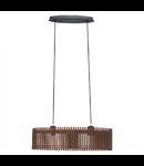 Lampa suspendata Narola,2x60w,nuc