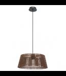 Lampa suspendata Narola,1x60w,nuc,con