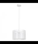 Lampa suspendata Narola,1x60w,alb
