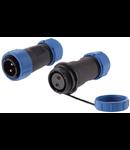 Cupla IP68 pentru cabluri cu 2 fire 4-7mm
