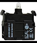 Element semnalizare led rosu 12-30V cc ac