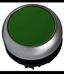Buton comanda cu revenire verde