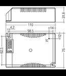 Balast iodura metalica 70w electronic HID-G12/Rx7S
