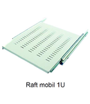 "Raft mobil pentru rack 19"" 1U  600mm"