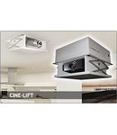 Lift electric incastrat pentru video proiector - comanda wireless