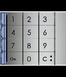 Tastatura metalica  pentru post exterior video interfon