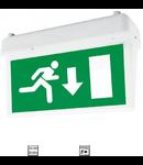 Lampa emergenta LED 2W ne permanenta autonomie 3 ore Tavan Stanga/Dreapta