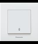 Intrerupator  cap cruce alb Panasonic Karre Plus