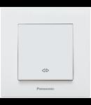 Intrerupator cap scara Karre Plus Panasonic alb