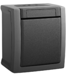 Intrerupator IP 54 Pacific Panasonic gri