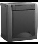 Priza schuko IP54 Pacific Panasonic gri