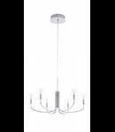 Eglo Lustra NOVENTA LED,6x3.3w,argintiu