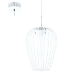 Lampa suspendata VENCINO,1x6w,alb,LED