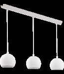 Lampa suspendata PETTO1,3x3.3w,alb,LED