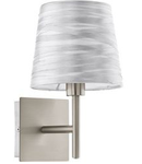 Eglo Aplica Fonsea,1x60w,E14,argintiu