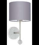 Eglo Aplica Positano,1x60w,E27,argintiu
