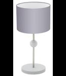 Eglo Veioza Positano,1x60w,E27,argintiu