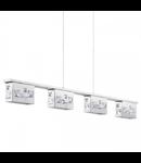 Lampa suspendata Tresana,4x5.8w,LED
