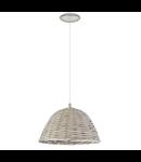 Lampa suspendata Campilo2,1x60w,E27,D360,gri