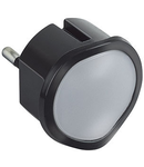 Lampa de veghe cu functie de emergenta si lanterna
