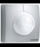 Senzor de miscare profesional, detectie cu infrarosu, pentru cladiri publice,argintiu