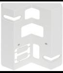 Adaptor montaj pe colt senzor de miscare profesional,alb